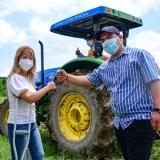 Gobernación entregó maquinaria especializada a pequeños productores