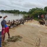 Desbordamiento del río Sinú causa emergencia en Lorica, Córdoba