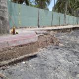 Declaran calamidad pública en Palomino por erosión costera