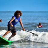 Paddle surf en el Atlántico