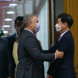 Presidente Iván Duque llegó a Corea del Sur en visita de Estado