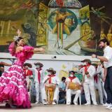 Reina de Carnaval se toma la Alcaldía de Barranquilla