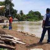 Defensoría del Pueblo visita zonas afectadas por inundaciones en Lorica