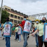 En Barranquilla, maestros y centrales obreras se sumaron a jornada de movilización