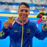 Nelson Crispín obtiene medalla de oro para Colombia e impuso récord mundial