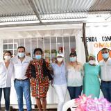 Inauguran tiendas comunitarias a mujeres rurales en Barrancas y Manaure
