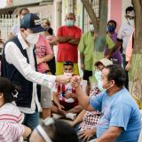 Alcaldía de Soledad anunció que en Los Cusules pavimentarán varias vías en mal estado