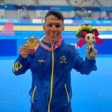 Nelson Crispín consiguió su segunda medalla en Tokio 2020