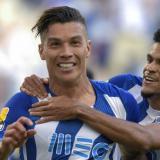 Mateus Uribe anota y Luis Díaz asiste con el Porto