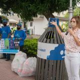 Barraquilla tiene nuevas estaciones para reciclaje en parques