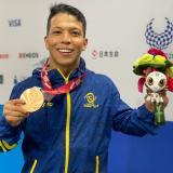Nelson Crispín volvió a ganar medalla en los Juegos Paralímpicos de Tokio-2020