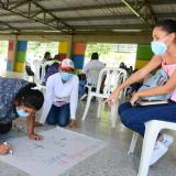 Gobernación capacita a líderes comunitarios sobre eventos de salud pública