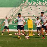 """""""Falcao le da mucha jerarquía a la Selección"""": Rafael Santos Borré"""
