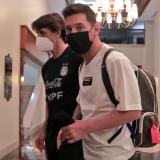 Lionel Messi ya entrena en Venezuela con Argentina