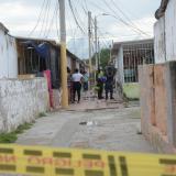 Atentado criminal en El Pueblito: un muerto y un herido