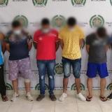 Caen seis presuntos extorsionistas  del 'Clan del Golfo' en Córdoba