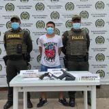 Capturan a dos sujetos que asaltaron una casa de Maicao
