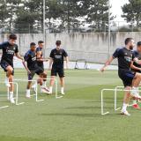 El Real Madrid se entrena sin Kroos, Modric, Ceballos y Nacho