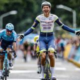 Van Der Hoorn se lleva la tercera etapa; Bissegger sigue líder