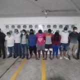 Cayeron nueve de la banda 'los Costeños Barranquillita'