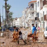 Fuertes lluvias inundan España