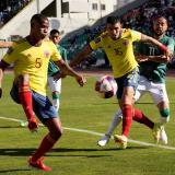 Wilmar Barrios cree que Colombia tuvo un gran sacrificio en la altura contra Bolivia
