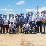 Se puso la primera piedra para arreglo de la vía Riohacha - Mayapo - Manaure