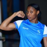 La atlanticense Angie Valdés ganó la medalla de oro en el Campeonato Nacional de Boxeo Élite