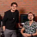 Estudio de grabación Jorge Andrés Roa y Juan David Amín