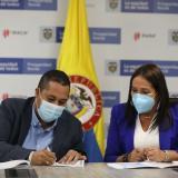 Firman convenio para construcción de nueva Galería Turística y Cultural de Riohacha
