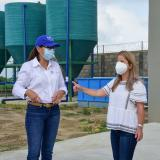 En Sabanagrande, la planta de agua está en su etapa final