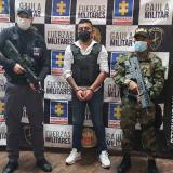 Cayó Camilo 40, cabecilla de las disidencias de 'Los Contadores'