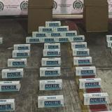 Incautan 5.000 cajetillas de cigarrillos ilegales en Sabanagrande