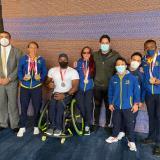 Los medallistas paralímpicos en Tokio dan su parte de victoria