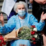 Una mujer de 111 años superó la covid-19 en Georgia
