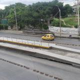 Plataforma especial de Transmetro para usuarios que asistan al Metropolitano