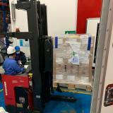 Llegaron a Colombia 752.400 dosis de vacunas de AstraZeneca