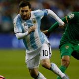 Los argentinos vuelven a un estadio tras 18 meses para ver a Messi campeón