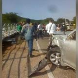 Vehículo al servicio del Gobernador del Magdalena arrolló accidentalmente a obrero