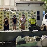 Cárcel para tres mujeres capturadas en flagrancia con armas de uso privativo de las Fuerzas Militares