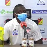 Edwuin Cetré cree que el punto en Pereira es importante para Junior