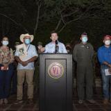 Mindefensa anuncia ofensiva contra estructura criminal de 'Gentil Duarte'