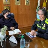 Director de la Policía presenta plan contra el delito para Barranquilla