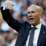 Zidane, presente en el palco del Santiago Bernabéu