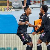 Juventus goleó como visitante al Malmo en la Champions