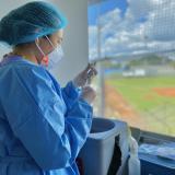 Llegan más de mil dosis anticovid a Montería