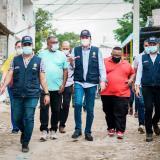 En el barrio La Viola de Soledad avanzan obras acordadas con la comunidad