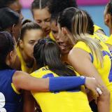 Colombia lidera junto a Brasil el Sudamericano Femenino de Voleibol