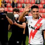 """Falcao dice que viene con """"ganas"""" para jugar en el Rayo Vallecano"""