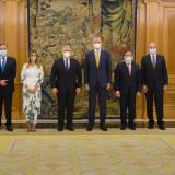 Duque y el rey Felipe VI se reunieron en el Palacio de la Zarzuela